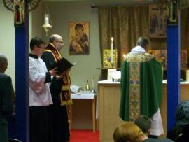 Bishop John Visits Holy Trinity Mission + Lynchburg, VA