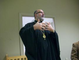Bishop John Visits Holy Trinity Mission + Lynchburg, VA
