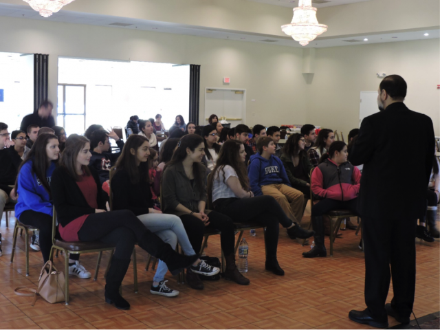 Bishop Nicholas addresses SOYO teens