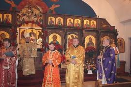 Bishop Thomas Visits St. George + Altoona, PA