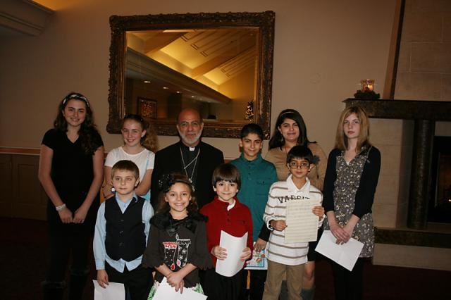 Bishop Thomas Visits St. George + Altoona, PA
