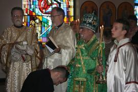 Bishop Thomas Visits St. George Church + Altoona, PA