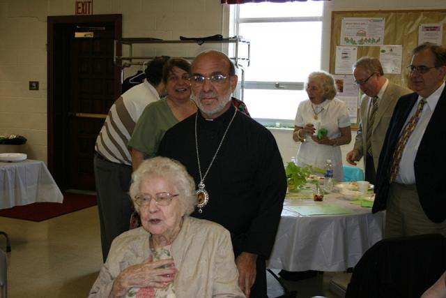 Bishop Thomas Visits St. George Church + Altoona, PA
