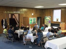 Bishop Thomas Visits St. Nicholas Church +Beckley, WV