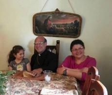 Bishop Thomas Visits St. Nicholas Church in Beckley, WV
