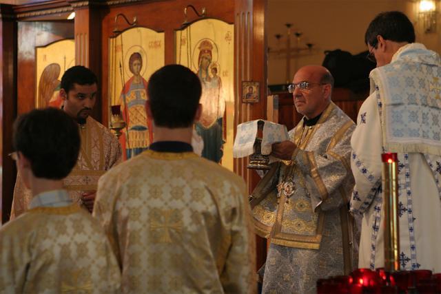 Bishop Thomas Visits St. George + Bridgeville, PA
