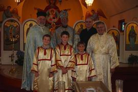 Bishop Thomas Visits St. Mary Church + Chambersburg, PA