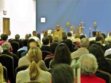 Bishop Thomas Visits St. Raphael of Brooklyn Mission + Chantilly, VA