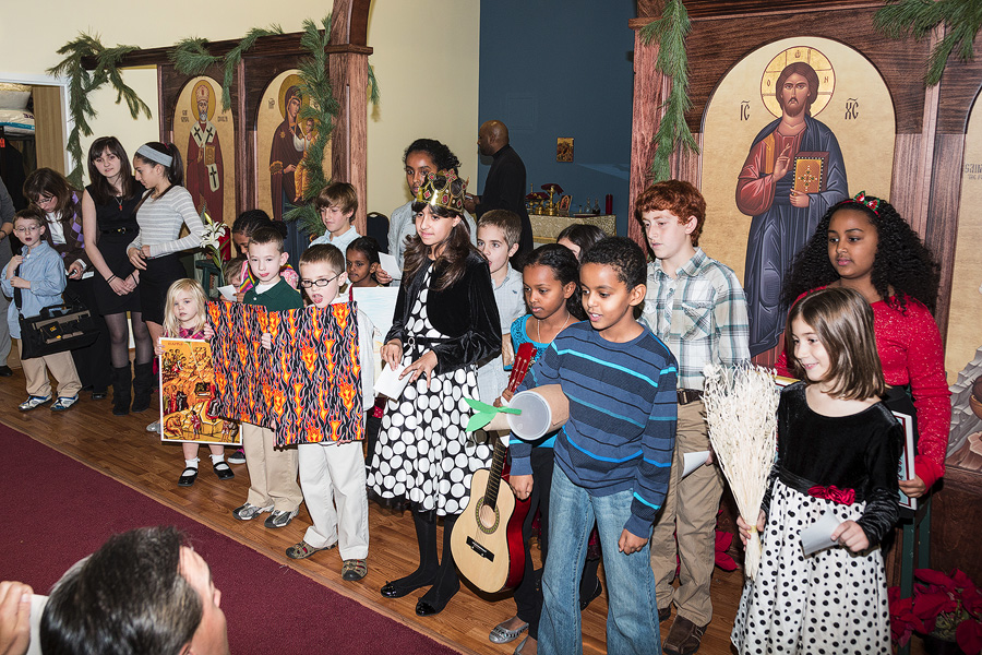 Bisho Thomas Visits St. Raphael of Brooklyn + Chantilly, VA