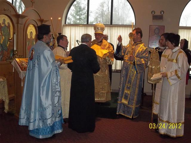 Bishop Thomas Visits St. Mary Church + Hunt Valley, MD