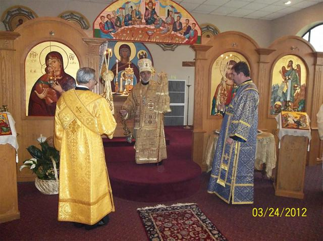 Bishop Thomas Visits St. Mary Church + Hunt Valley, MD