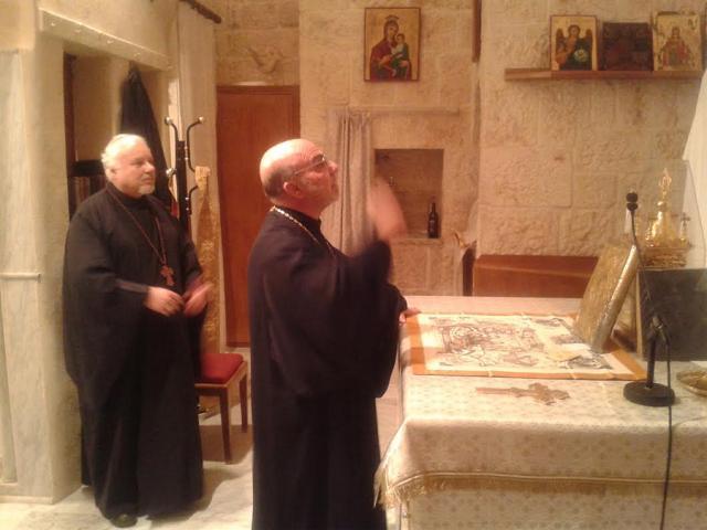 Bishop Thomas in Lebanon + May 2014