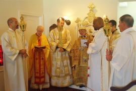 Bishop Thomas Visits St. Andrew Mission + Lewes, DE