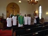 Bishop Thomas Visits St. John the Baptist Church + Lewistown, MD