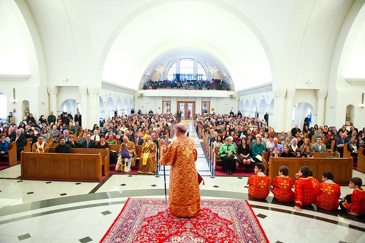 Bishop Thomas Visits St. Mary Basilica + Livonia, MI