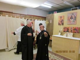 Bishop Thomas Visits Holy Trinity Mission + Lynchburg, VA