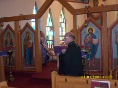 Bishop Thomas Visits St. Michael Church + Monessen, PA