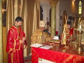 Bishop Thomas Visits St. Nicholas Cathedral + Brooklyn, NY