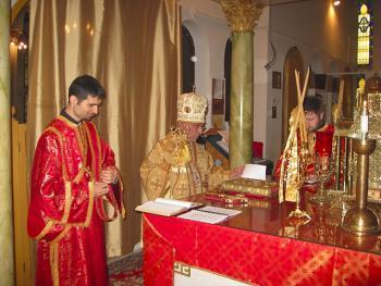Bishop Thomas Visits St. Nicholas Cathedral + Brooklyn, NY