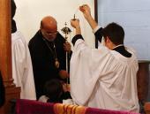 Bishop Thomas Visits St. Patrick Mission + Warrenton, VA