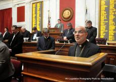 Bishop Thomas Opens Meeting at West Virginia State House of Delegates