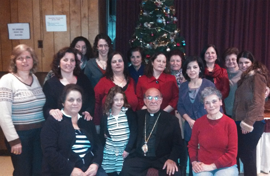 Bishop Thomas Visits St. George Church + Upper Darby, PA