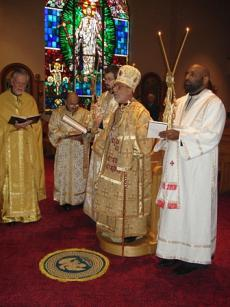 Bishop Thomas Visits St. Mary Church + Wilkes-Barre, PA