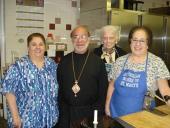 Bishop Thomas Visits St. Mary Church + Wilkes-Barre, PA