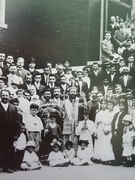 St. George Church in Cedar Rapids, Iowa, 1914