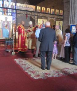 Bishop Thomas visits St. George in Upper Darby, PA