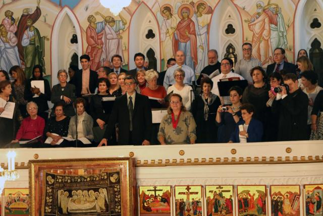 Enthronement choir