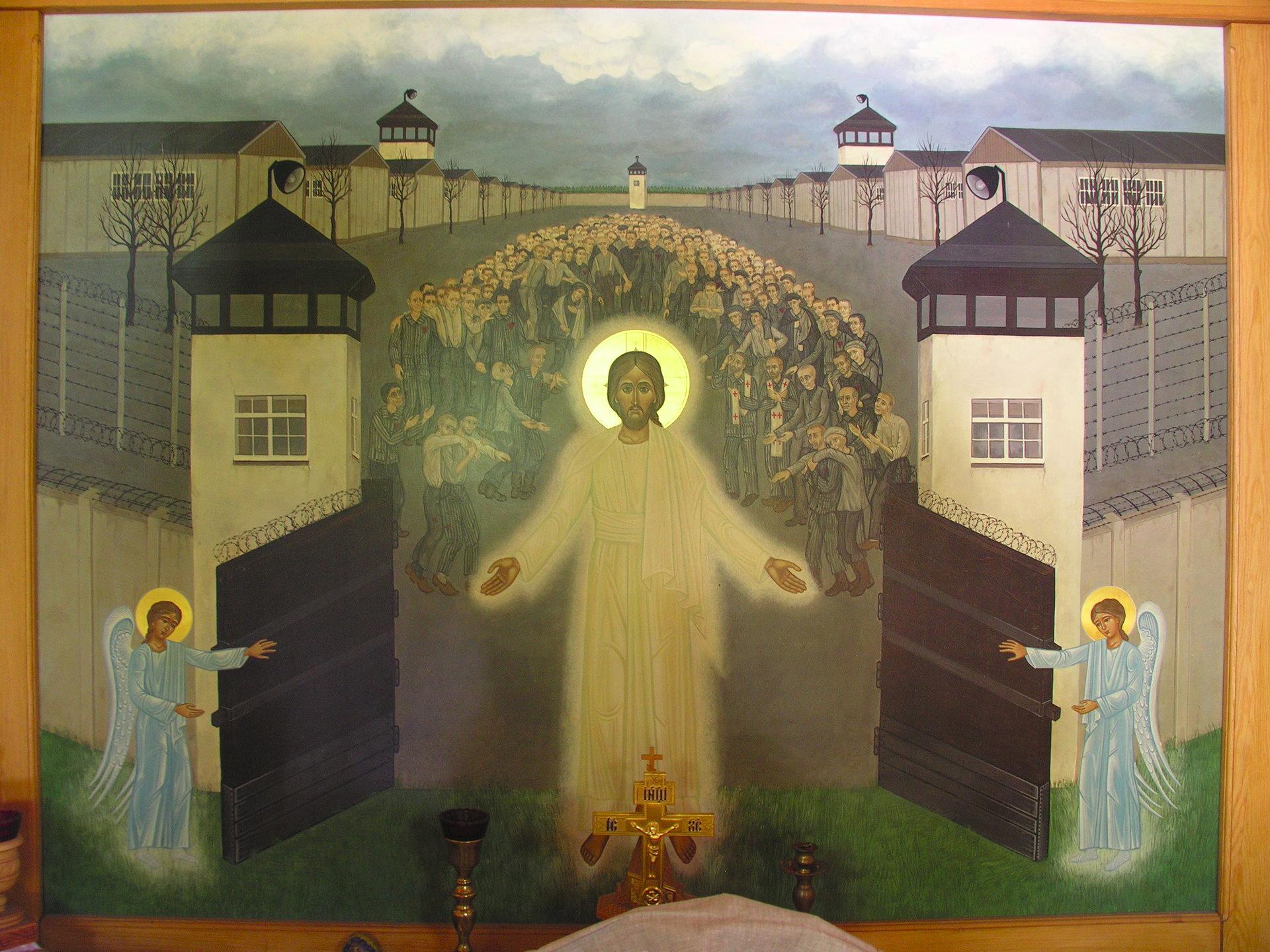 Christ Opening the Gates of Dachau