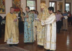 Liturgy with Bishop John