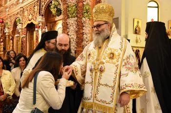 His Beatitude in Athens, 2014