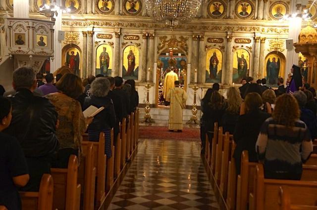 Vespers at St. Nicholas Cathedral, Nov. 6, 2015: St. Raphael Jubilee Celebration
