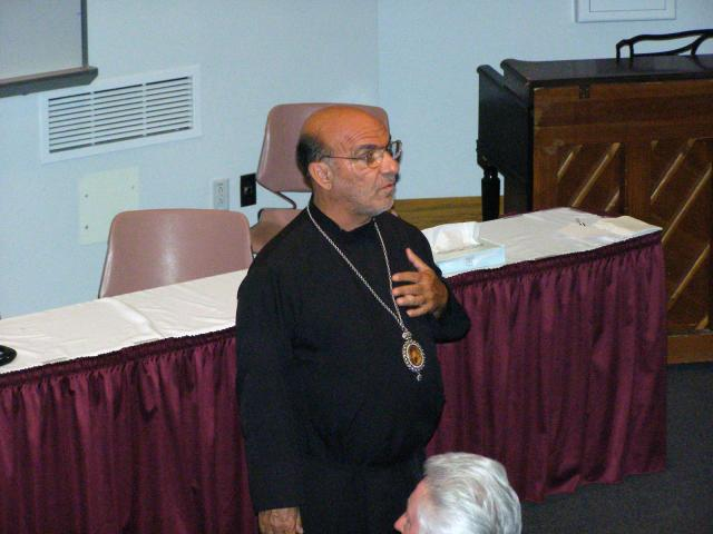 01: Bishop THOMAS presiding over his 5th Annual Clergy Retreat