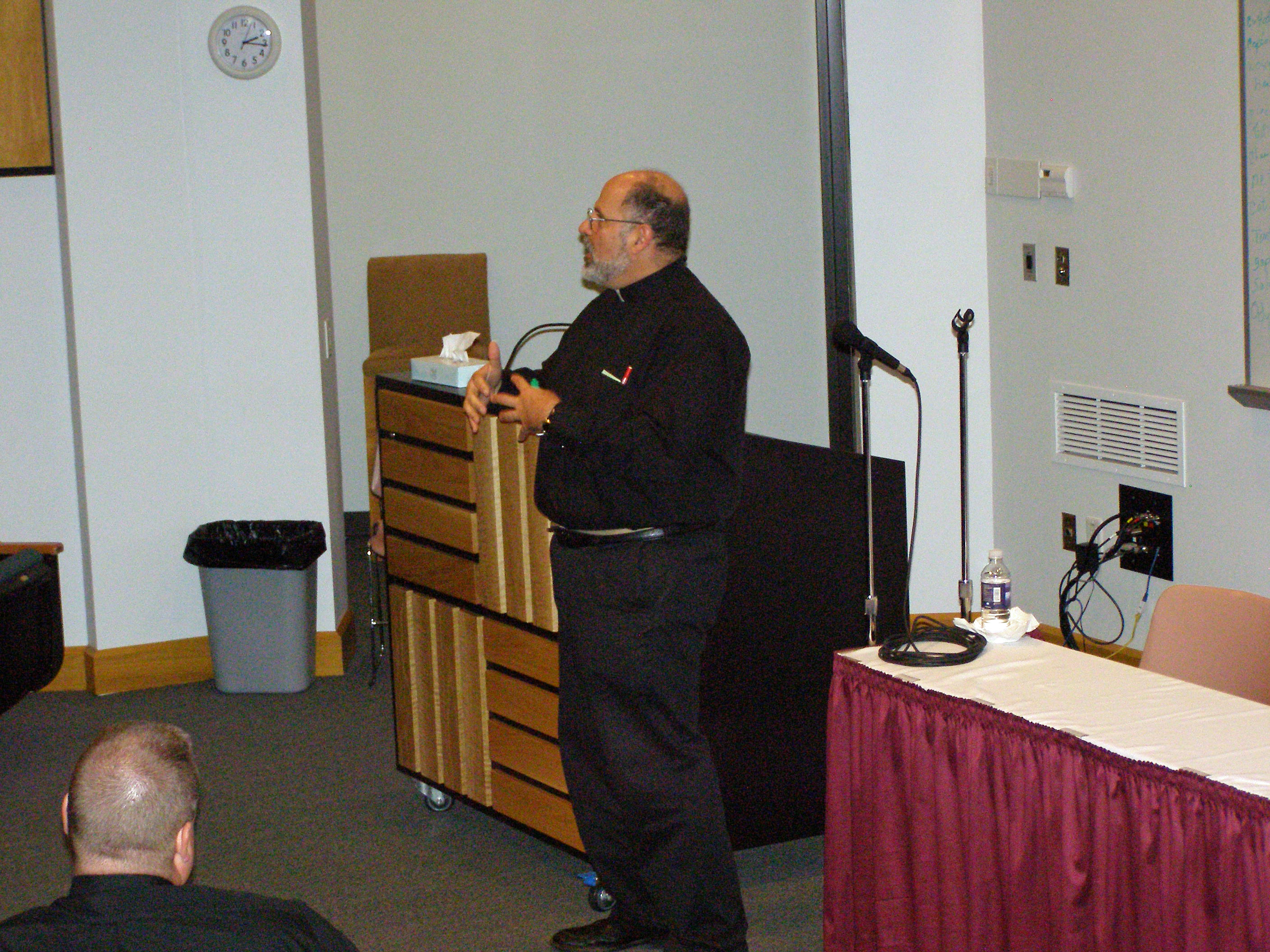 02: Fr. John Abdalah - Retreat Leader