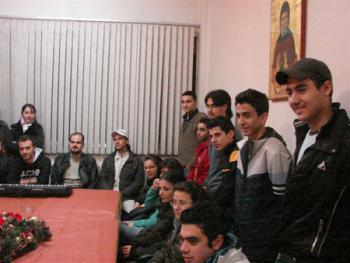 Aleppo: Bp BASIL meeting with college students