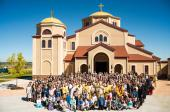 Consecration of new building at St. Luke, Erie, CO, 2013