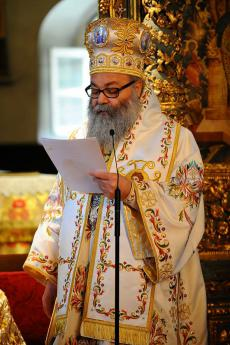 Patriarch John X at Phanar June 2013