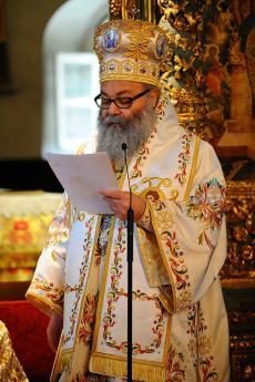 Patriarch John X at Phanar June 2013