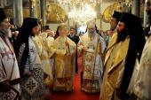 Patriarchs at Phanar June 2013