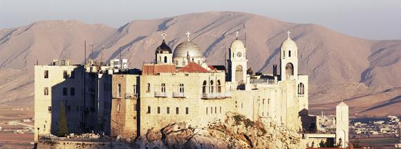 The Orthodox Convent of Our Lady, Seydnaya, Syria (photo: De Agostini/C. Sappa)