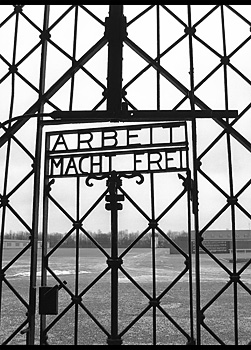 Gates of Dachau Concentration Camp