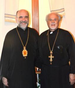 Bishop Michael (OCA) with Fr. Constantine