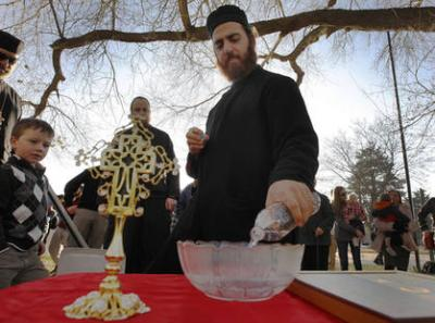 Dn. John Mahfouz, Ss. Peter and Paul Antiochian Orthodox Church, Salt Lake City (Chelsey Allder/Deseret News)