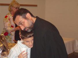 Deacon James Kallail and Godson