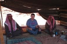 Dr. Nicolae Roddy with Bedouin