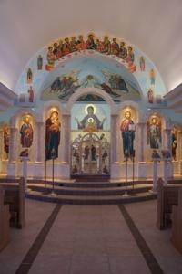 St. Paul's iconostasis