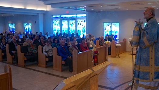 Metropolitan Joseph addresses the community of St. Paul, February 2015